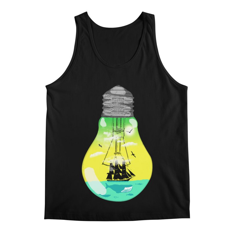 Sea travel Men's Regular Tank by yakitoko's Artist Shop