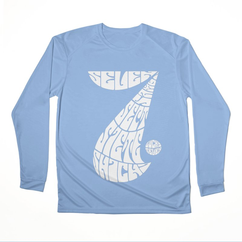 Lucky Seven Men's Longsleeve T-Shirt by yakitoko's Artist Shop