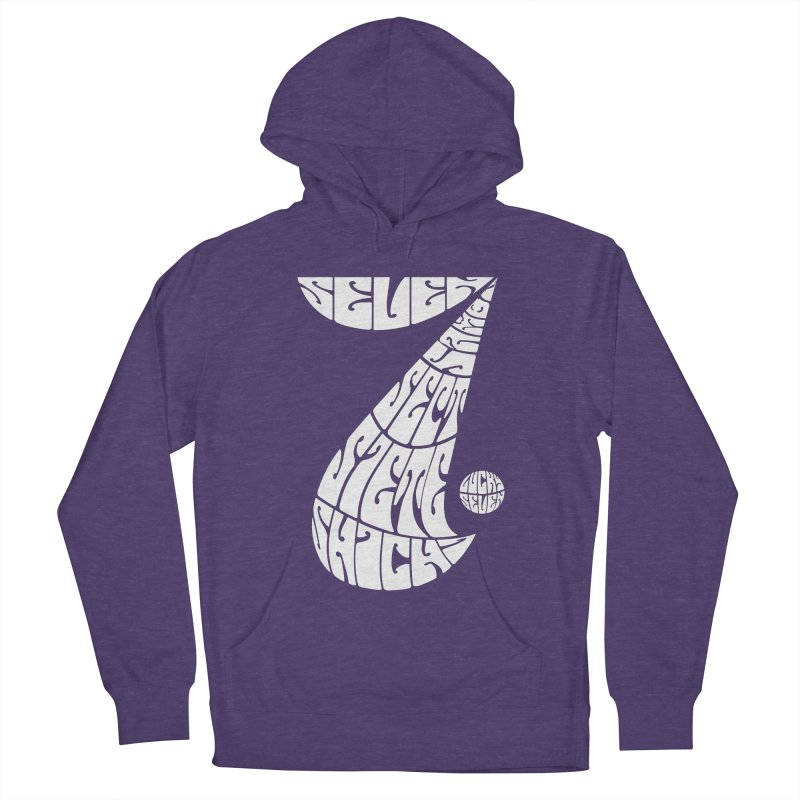 Lucky Seven Men's Pullover Hoody by yakitoko's Artist Shop