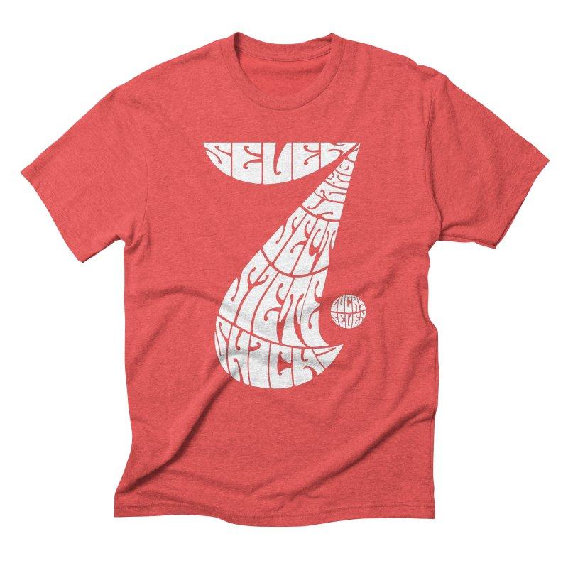 Lucky Seven Men's Triblend T-shirt by yakitoko's Artist Shop