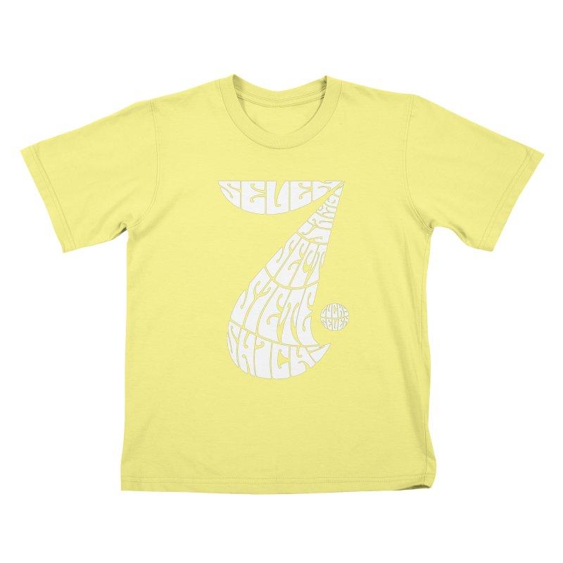 Lucky Seven Kids T-shirt by yakitoko's Artist Shop