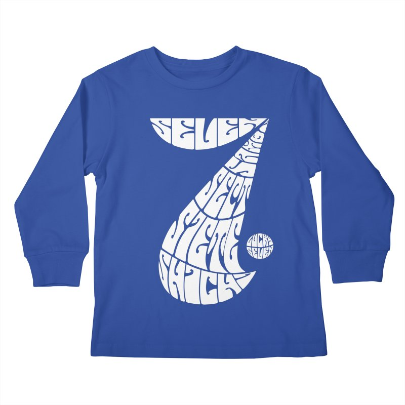 Lucky Seven Kids Longsleeve T-Shirt by yakitoko's Artist Shop