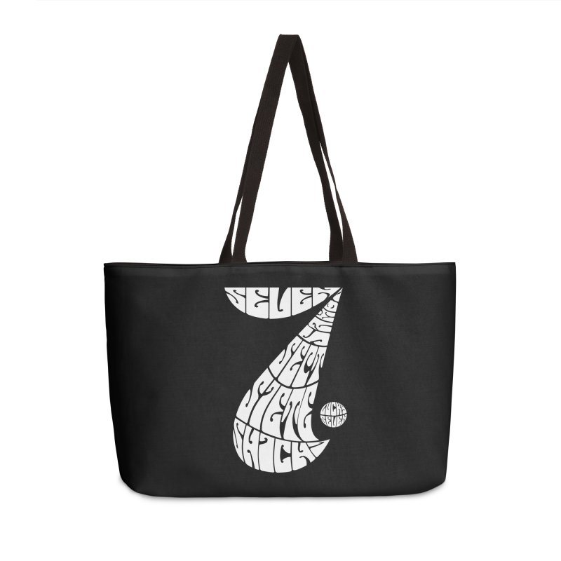 Lucky Seven Accessories Bag by yakitoko's Artist Shop