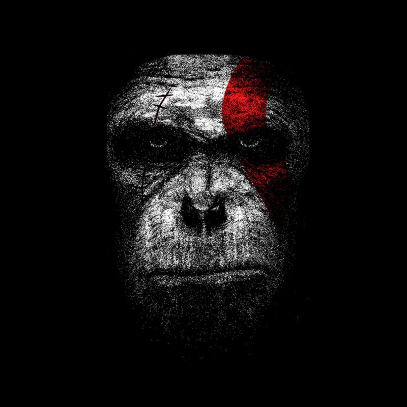 Ape of war by yakitoko's Artist Shop