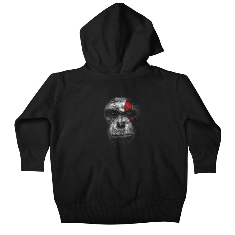 Ape of war Kids Baby Zip-Up Hoody by yakitoko's Artist Shop