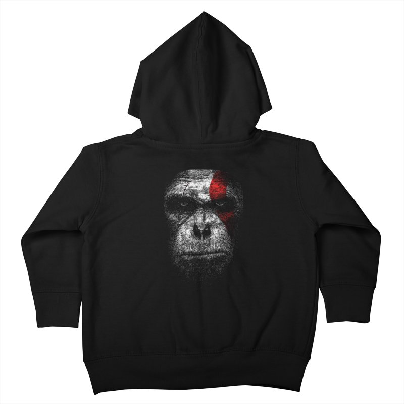 Ape of war Kids Toddler Zip-Up Hoody by yakitoko's Artist Shop
