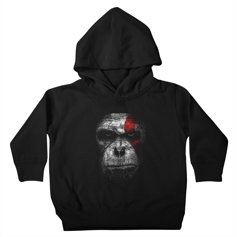 Ape of war Kids Toddler Pullover Hoody by yakitoko's Artist Shop
