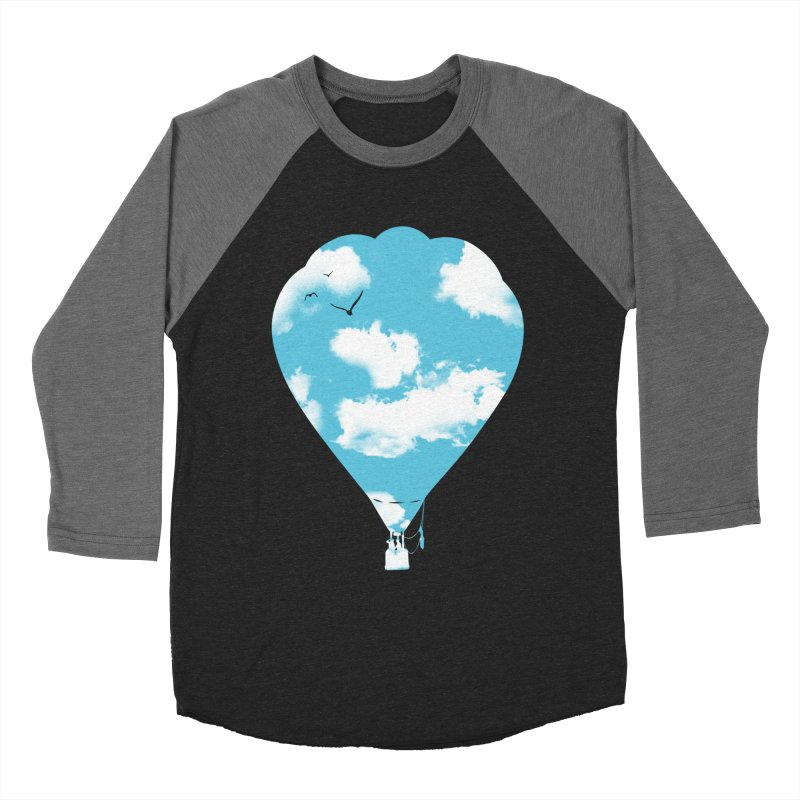 Sky Balloon Women's Longsleeve T-Shirt by yakitoko's Artist Shop