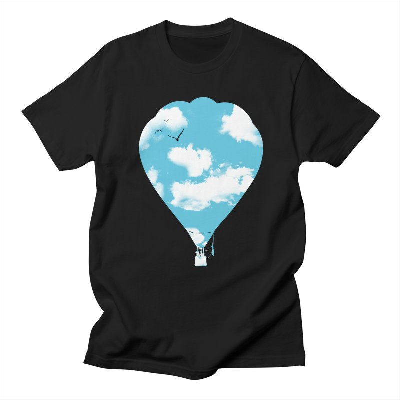 Sky Balloon Men's T-Shirt by yakitoko's Artist Shop