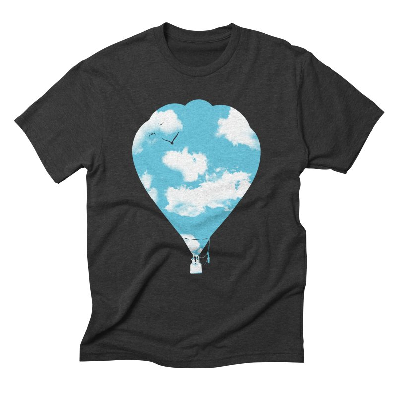 Sky Balloon Men's Triblend T-Shirt by yakitoko's Artist Shop