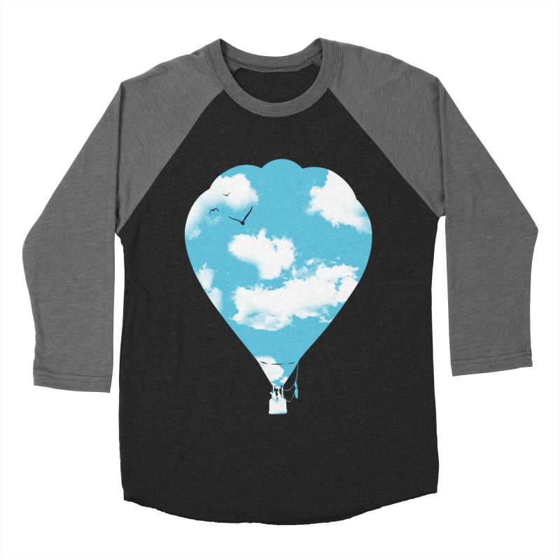 Sky Balloon Men's Baseball Triblend Longsleeve T-Shirt by yakitoko's Artist Shop