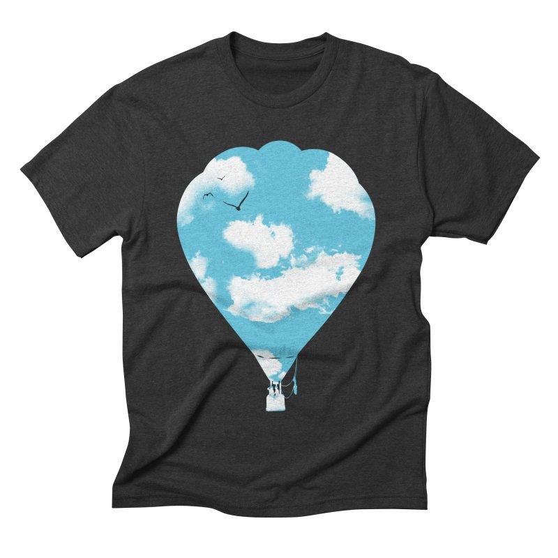 Sky Balloon Men's Triblend T-shirt by yakitoko's Artist Shop