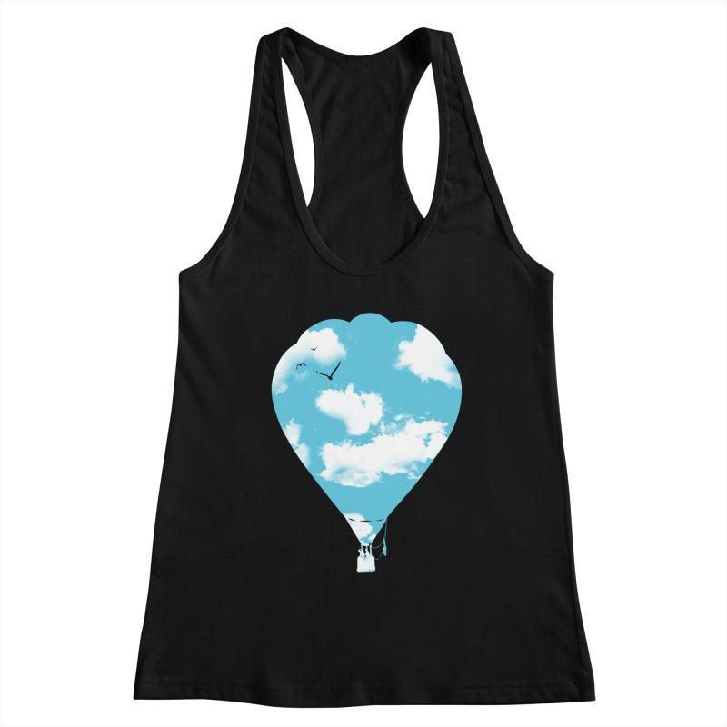 Sky Balloon Women's Tank by yakitoko's Artist Shop