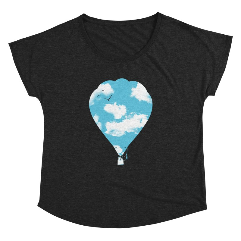Sky Balloon Women's Dolman by yakitoko's Artist Shop
