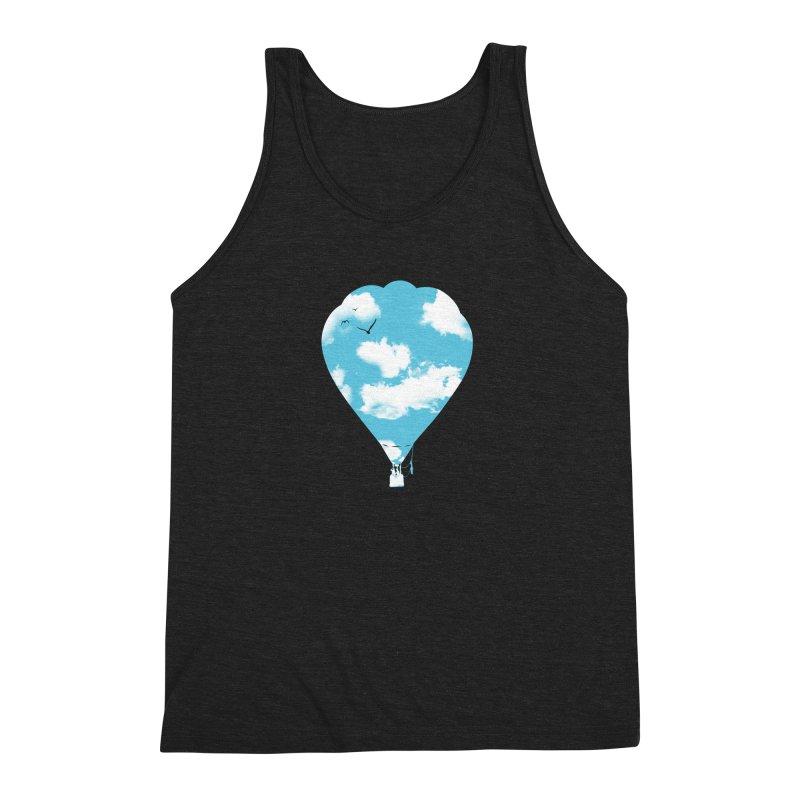 Sky Balloon Men's Tank by yakitoko's Artist Shop