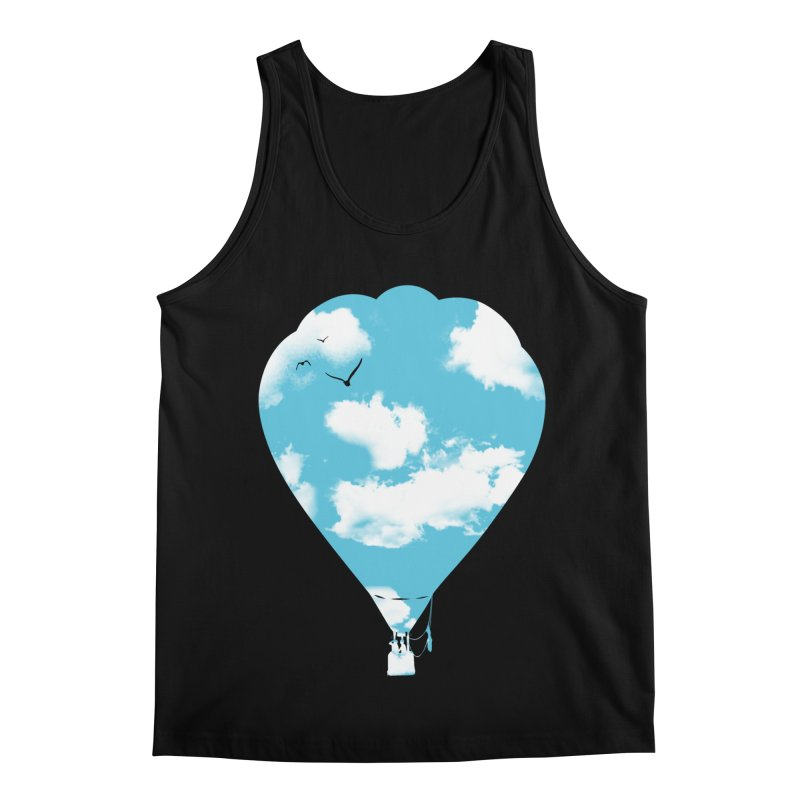 Sky Balloon Men's Regular Tank by yakitoko's Artist Shop
