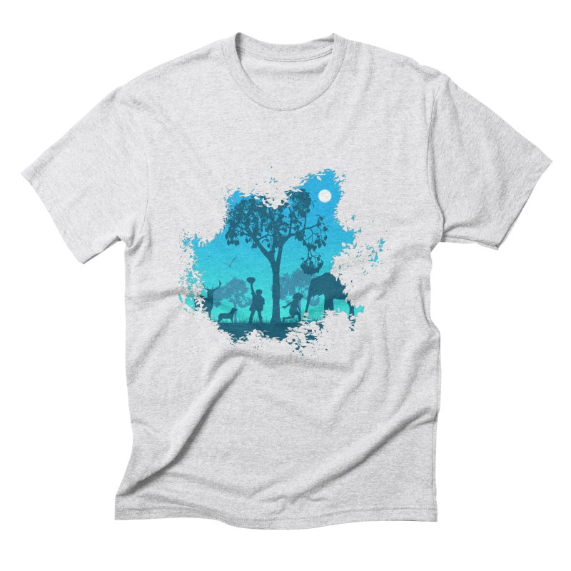 The Jungle Men's Triblend T-Shirt by yakitoko's Artist Shop