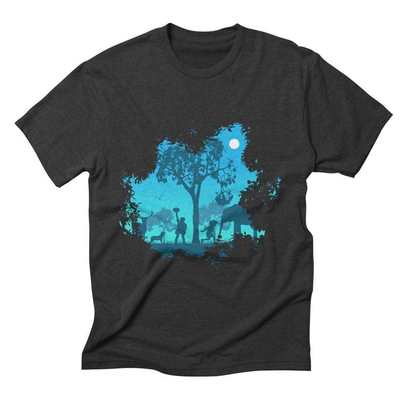 The Jungle Men's Triblend T-shirt by yakitoko's Artist Shop