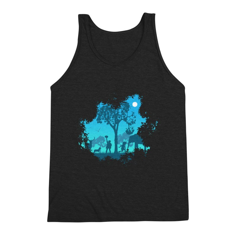 The Jungle Men's Triblend Tank by yakitoko's Artist Shop
