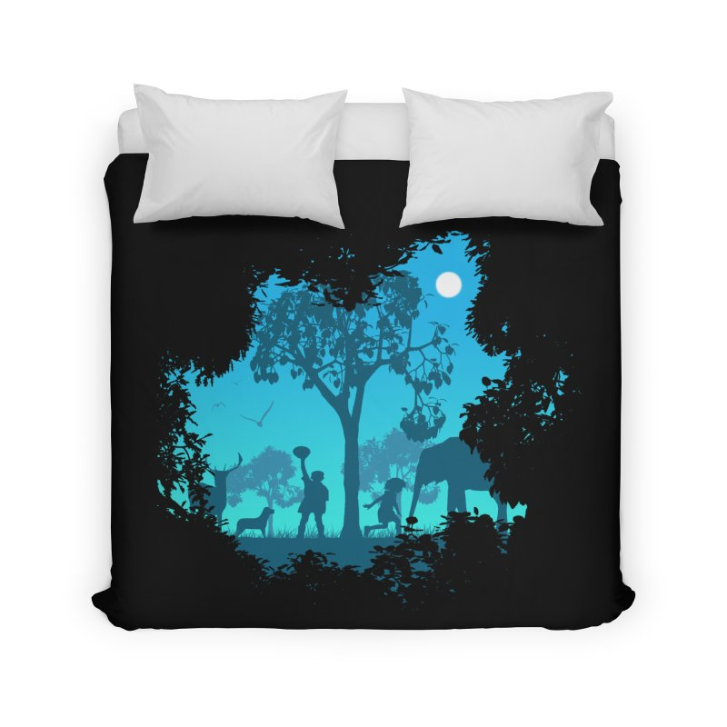 The Jungle Home Duvet by yakitoko's Artist Shop