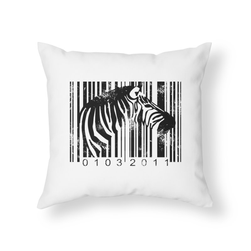 Code Z Home Throw Pillow by yakitoko's Artist Shop