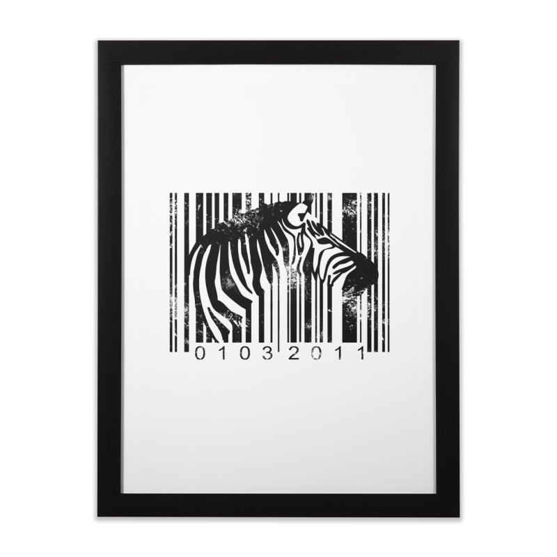 Code Z Home Framed Fine Art Print by yakitoko's Artist Shop