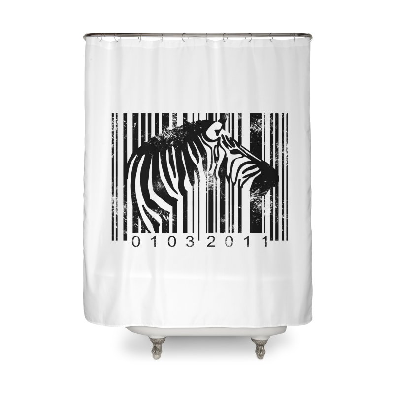 Code Z Home Shower Curtain by yakitoko's Artist Shop