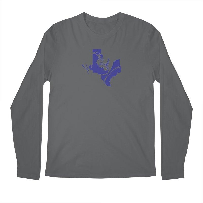 Texas Water Men's Longsleeve T-Shirt by Yakona