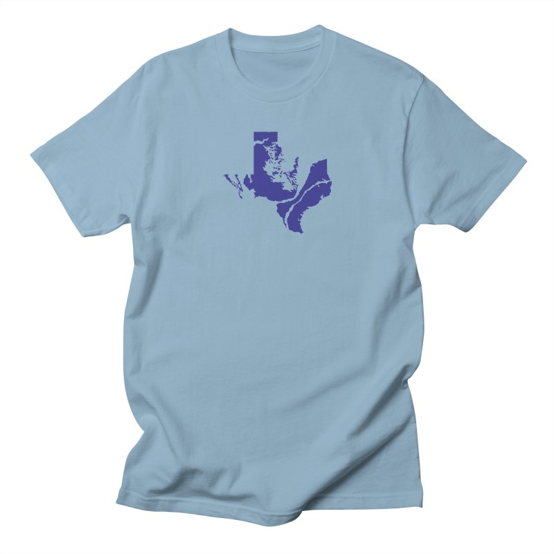 Texas Water Men's T-Shirt by Yakona