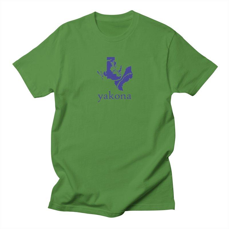 Texas Water Yakona Men's T-shirt by Yakona
