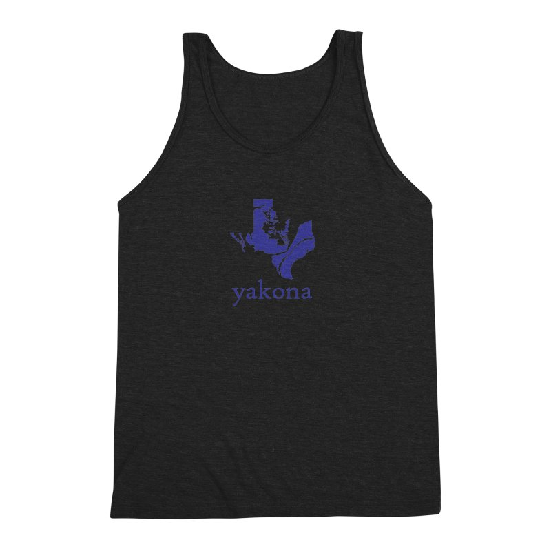 Texas Water Yakona Men's Triblend Tank by Yakona