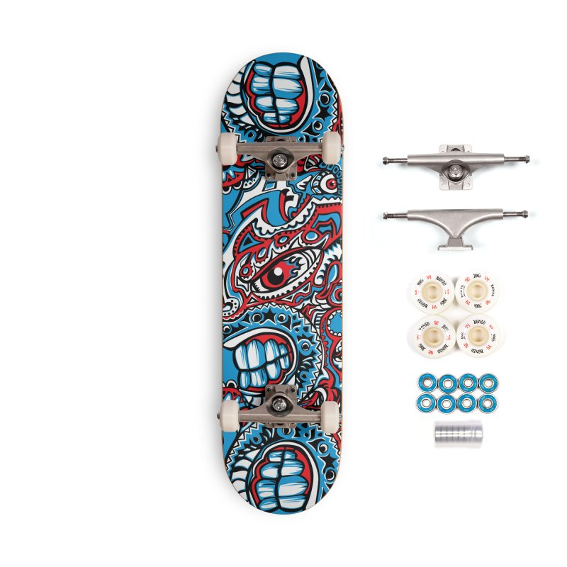 IFC_Skate_FaceA001 Accessories Complete - Premium Skateboard by Art of Yaky Artist Shop