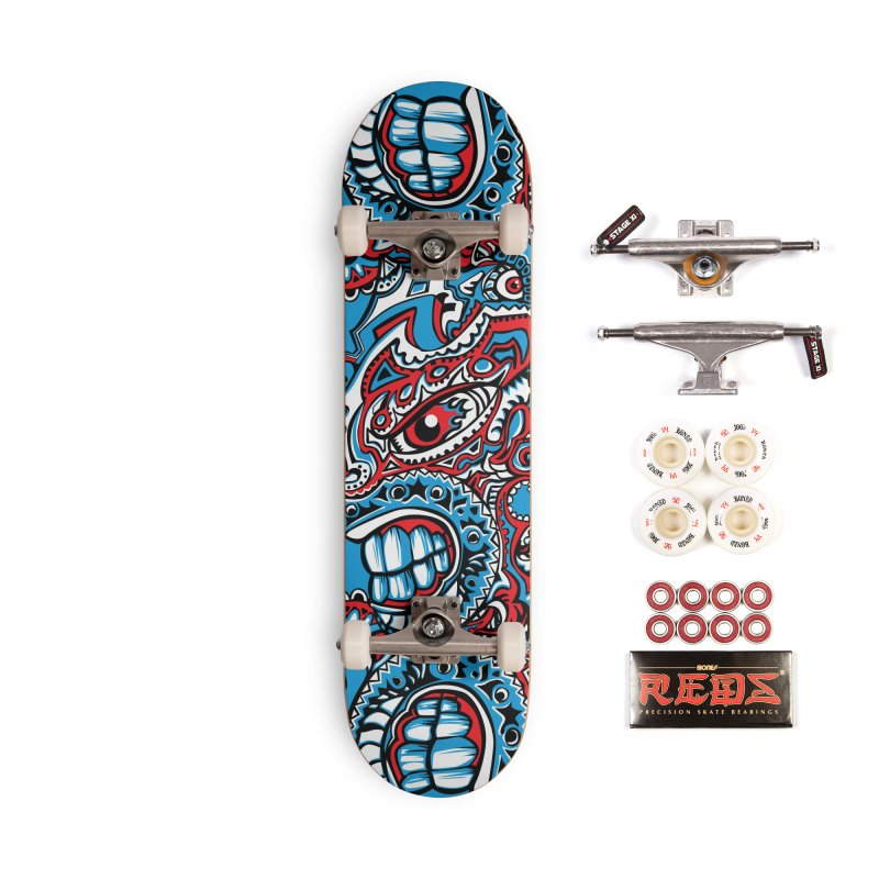 IFC_Skate_FaceA001 Accessories Complete - Pro Skateboard by Art of Yaky Artist Shop