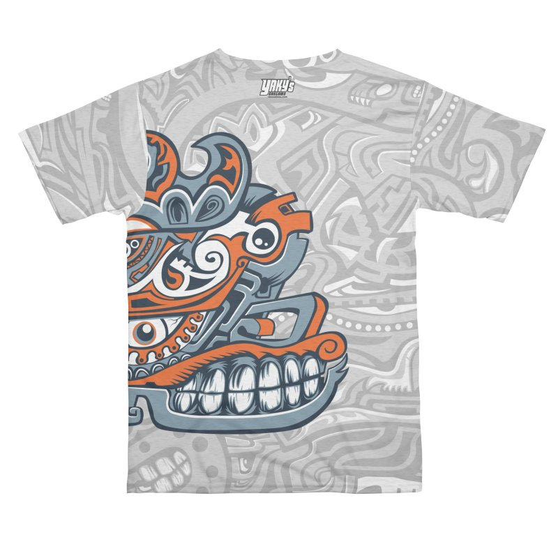 Indigenous Faces_Rain and Storms Men's Cut & Sew by Yaky's Customs