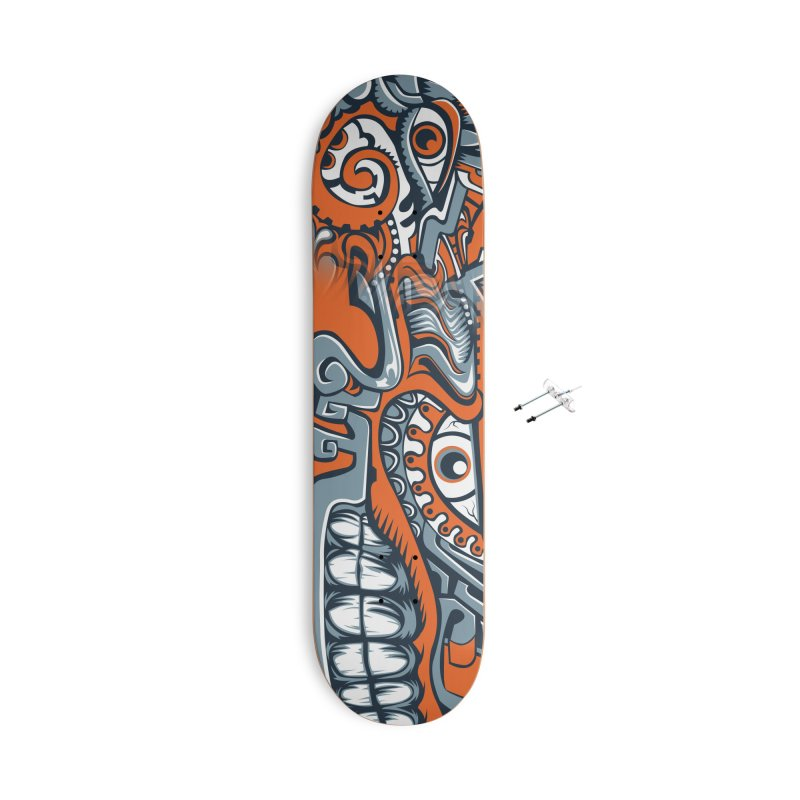 IFC_Skate_FaceAB001 Accessories With Hanging Hardware Skateboard by Art of Yaky Artist Shop