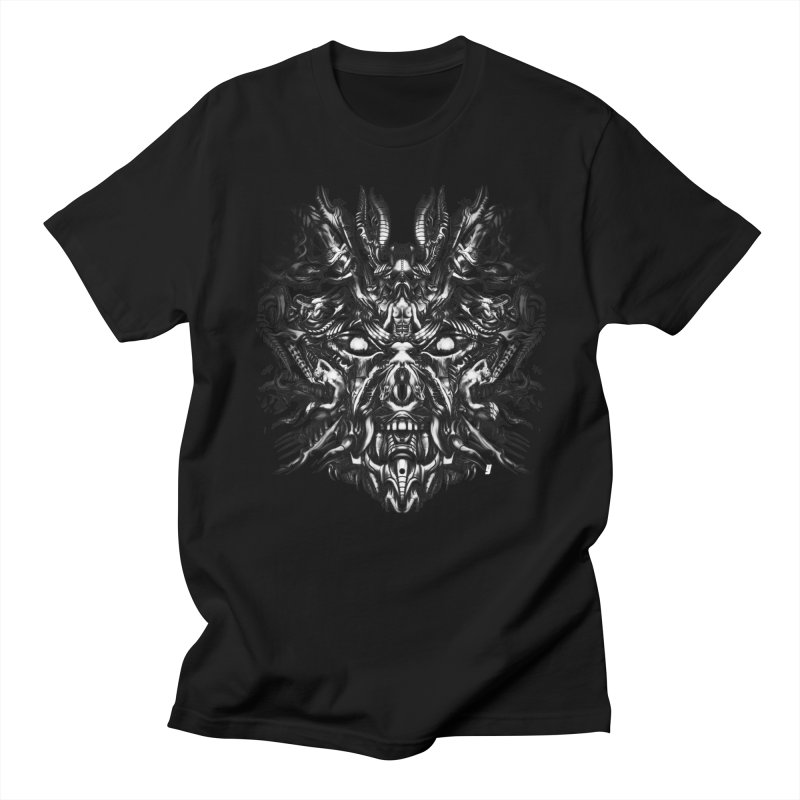 Vanished Kings B&W Design_A Men's T-Shirt by Art of Yaky Artist Shop