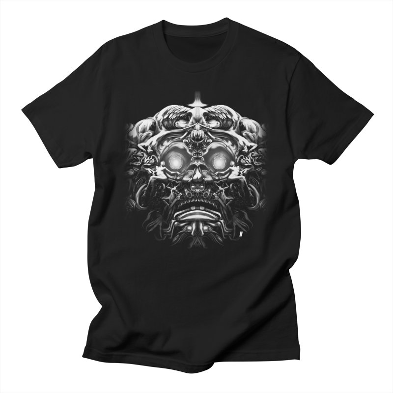 Vanished Kings B&W Design B Men's Regular T-Shirt by Art of YakyArtist Shop