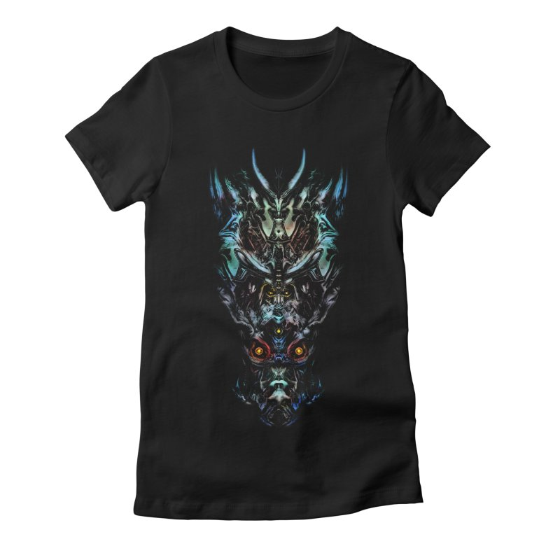 VK_Design_C Women's Fitted T-Shirt by Art of YakyArtist Shop