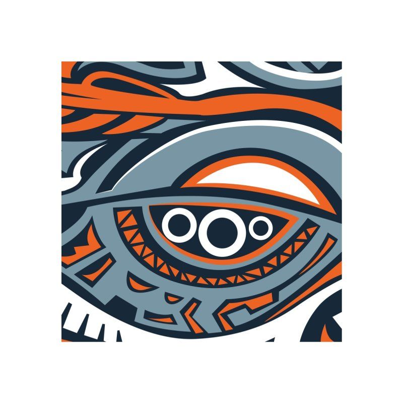 Indigenous Faces_Rain and Storm Accessories Bag by Yaky's Customs