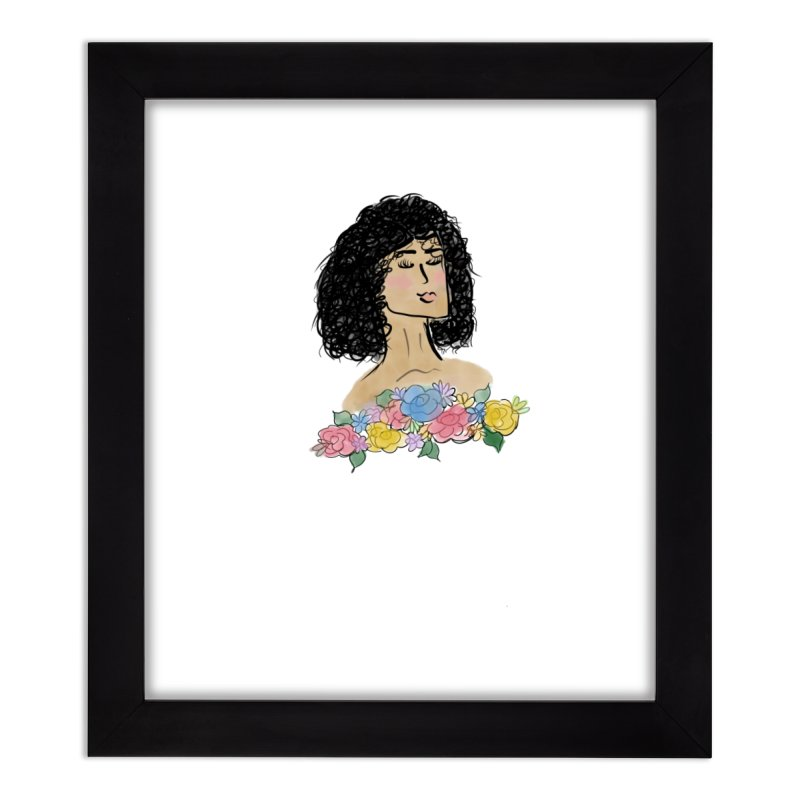 Beauty in the Meadow Home Framed Fine Art Print by Yaky's Customs