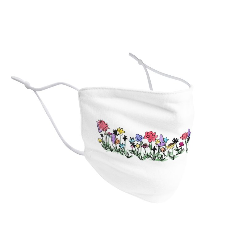 Field of Wildflowers Accessories Face Mask by Yaky's Customs