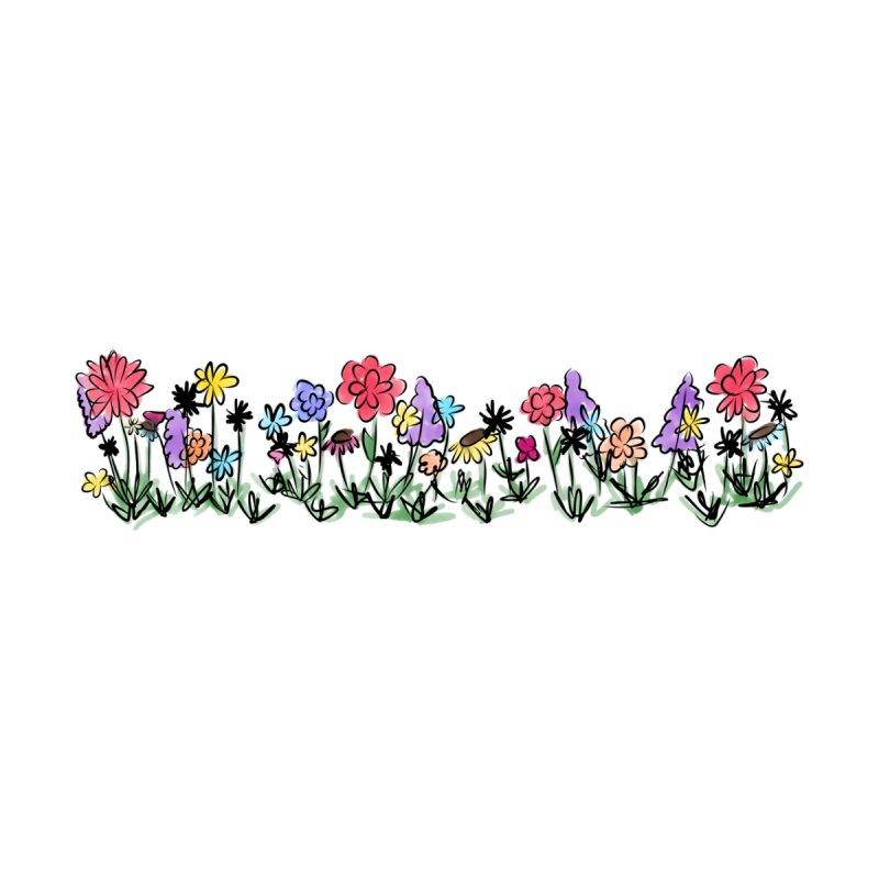 Field of Wildflowers Women's Zip-Up Hoody by Yaky's Customs