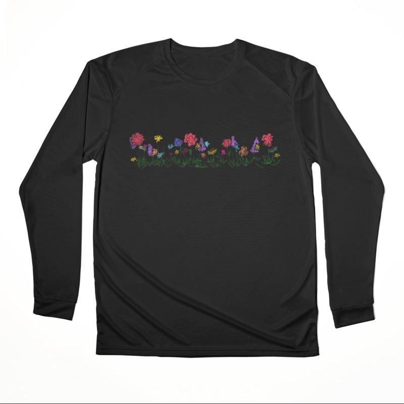 Field of Wildflowers Women's Longsleeve T-Shirt by Yaky's Customs