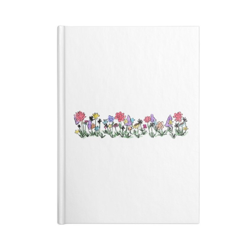 Field of Wildflowers Accessories Notebook by Yaky's Customs