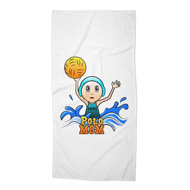 Polo Mom Accessories Beach Towel by Art of YakyArtist Shop
