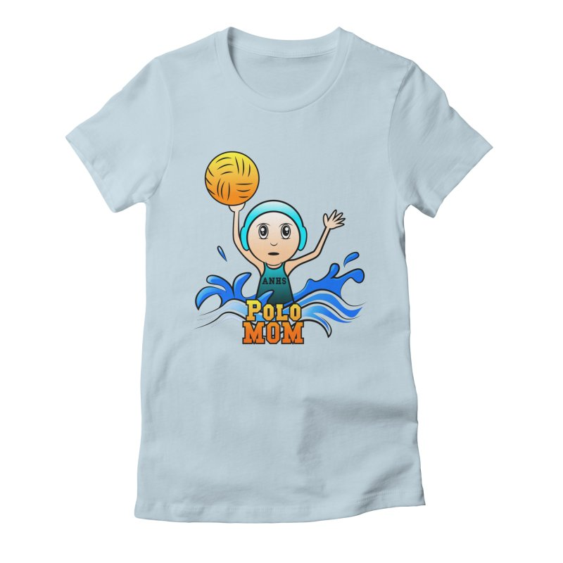 Polo Mom Women's Fitted T-Shirt by Art of YakyArtist Shop