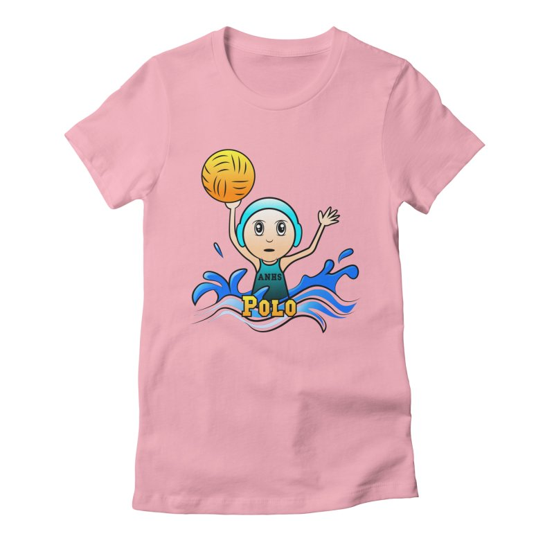 ANHS Polo Women's Fitted T-Shirt by Art of YakyArtist Shop