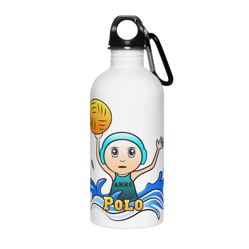 ANHS Polo Accessories Water Bottle by Art of YakyArtist Shop