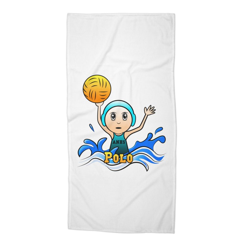 ANHS Polo Accessories Beach Towel by Art of YakyArtist Shop