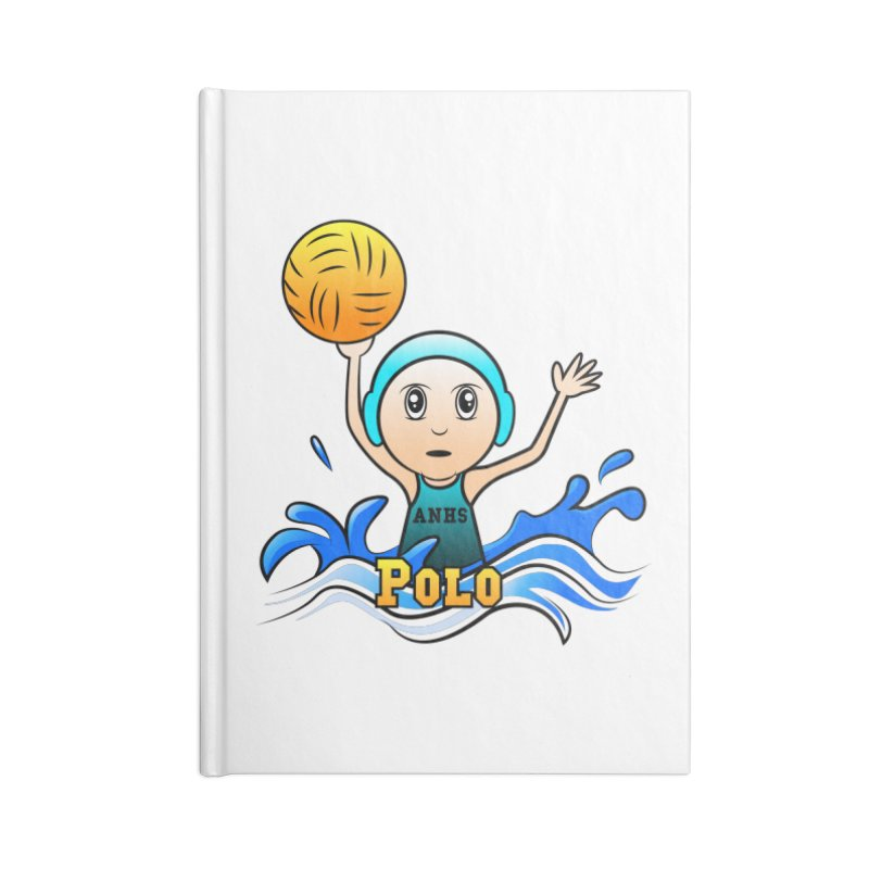 ANHS Polo Accessories Notebook by Art of YakyArtist Shop